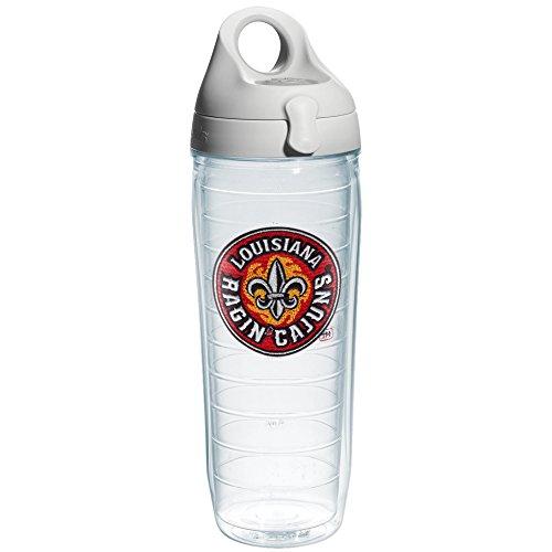 Tervis 1190858 Louisiana Lafayette University Logo Emblem Individual Water Bottle