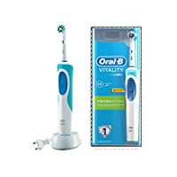 Oral-B Vitality Crossaction Electric Rechargeable Toothbrush Powered by Braun