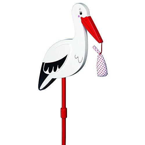 Goki 63936 - Gartengerät - Storch mit Babytuch
