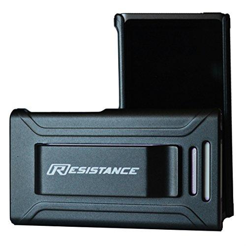 l, Widerstand, Schutzhülle mit Metallic-Finish und Integriertem Gürtel Clip für iPod Nano 7(7. Generation), Grau Metallisch ()