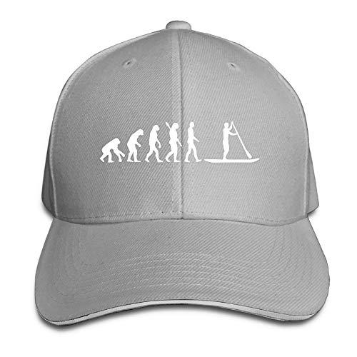 Presock Prämie Unisex Kappe Paddleboard Evolution-1 Adult Adjustable Snapback Hats Trucker Cap