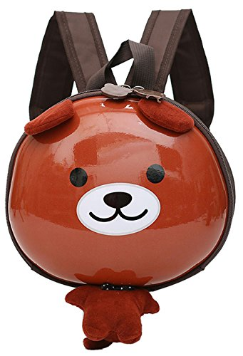 Felice Kindergarten Rucksack Mini Kinderrucksack Niedlich Karikatur Aussehen Backpack Schultasche Light Unisex Kindergartentasche für 2-7Jahre Mädchen Jungen,für Schule,Tier auswahlbar