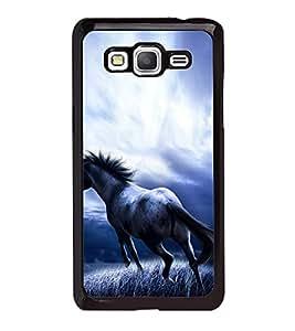 Fuson Premium 2D Back Case Cover Horse With Multi Background Degined For Samsung Galaxy J5::Samsung Galaxy J5 J500F
