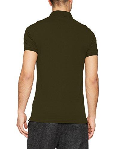 BOSS Casual Herren Poloshirt Passenger Grün (Dark Green 302)