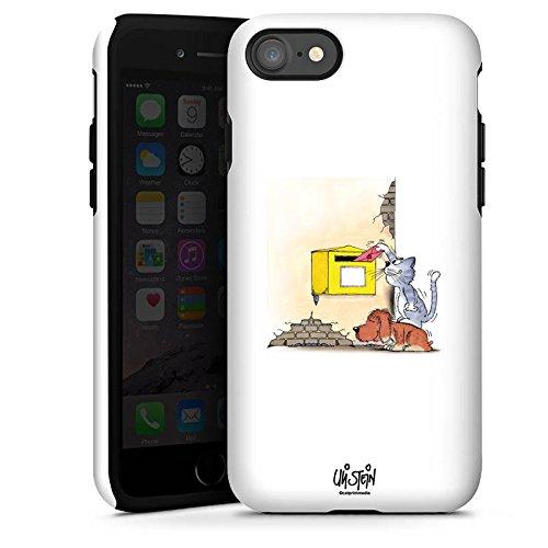 Apple iPhone X Silikon Hülle Case Schutzhülle Uli Stein Fanartikel Merchandise Cartoons Tough Case glänzend