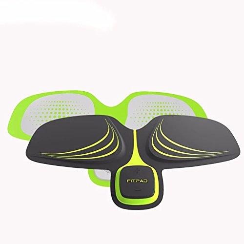 RJJJ Mini ABS Fit Formazione Multi-Funzione EMS Addominale Esercizio Hous Muscoli Addominali intensivo Formazione Perdita Dimagrimento Massager