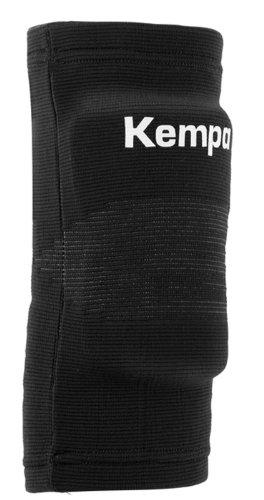 Kempa Erwachsenen Ellbogenbandage gepolstert, schwarz, L, 200650801