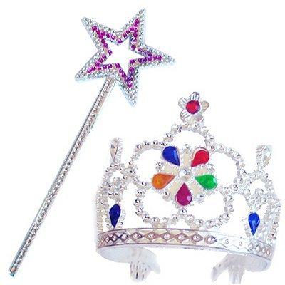 Non Concerne Rubies-Accesorio para Disfraz-Varita 456100-Tiara + Princesa