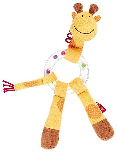 sigikid, Mädchen und Jungen, Greifling und Rassel Giraffe, Gelb, 41016