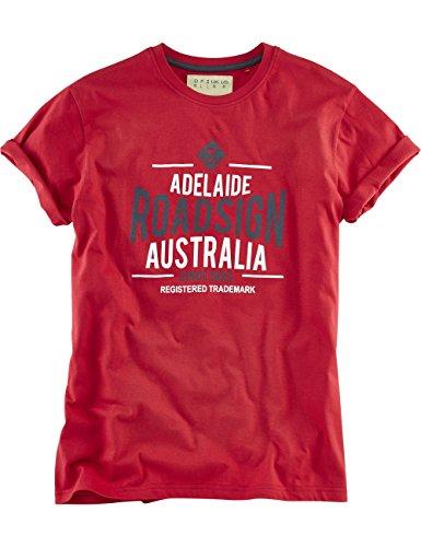 ROADSIGN australia T-Shirt Adelaide Hotspot Rot
