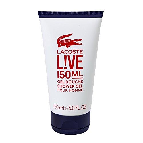 Lacoste L!ve men, Spray Gel Pour Homme, 1er Pack (1 x 150 ml)