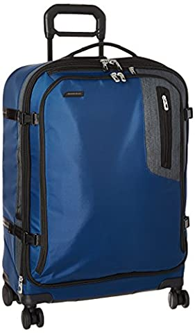 Briggs & Riley BRX Explore Medium Expandable Spinner, 66cm, 71.4 litres, Blue Valise, 66 cm, liters, Bleu (Blue)