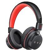 Mpow H1 Auriculares Bluetooth Diadema, Cascos Bluetooth Inalámbricos, Auriculares Inalámbricos Over-Ear Plegables con Micrófono Incorporado, Wireless Modo o con 3.5mm Cable para PC/Celulares/TV