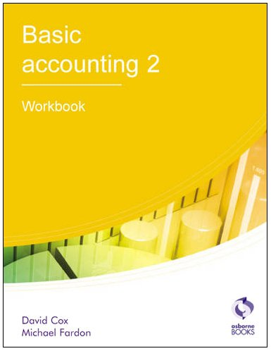 Basic Accounting 2: Workbook (AAT Accounting - Level for sale  Delivered anywhere in UK