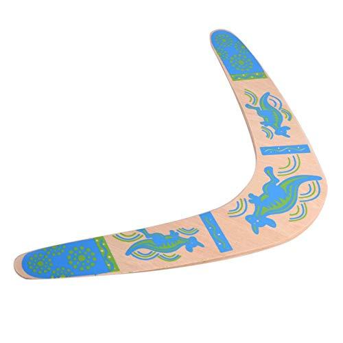 Holz Boomerang V Form Rückkehr Boomerang 100° Winkel Holz Ausrüstung Fliegende Spielzeug für Sport Spiel Spielzeug