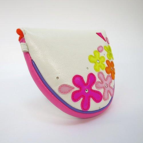 Kokomi Moze Jewel Flower Mallet Cover pa 08101276 m Golf Wear/Damen_Weste/Damen-Komplett-Sets