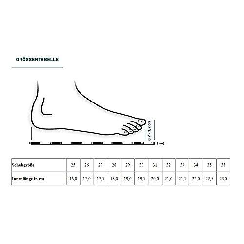 Gallux - Jungen Freizeitschuhe Schuhe Hausschuhe Schwarz
