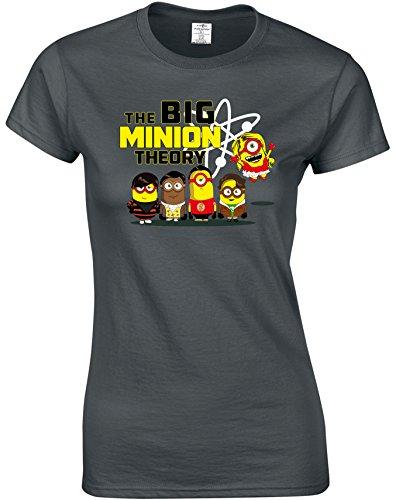 Eat Sleep Shop Repeat -  T-shirt - Donna Charcoal
