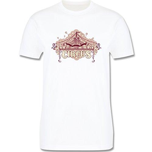 Statement Shirts - Circus - Herren Premium T-Shirt Weiß