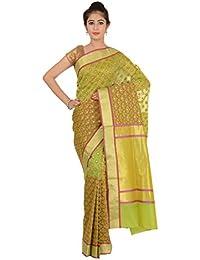 Paheli Silk Saree (Paheli001_Green)