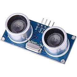 Modulo de sensor de ultrasonidos - TOOGOO(R) 3 x Modulo ultrasonico HC SR04 medicion de la distancia del sensor transductor para Arduino