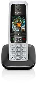 Gigaset C430 Téléphone numérique sans fil Noir/Gris
