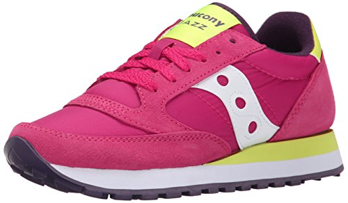 Saucony Jazz Original Donna Trainers, rosso (Red/Yellow), 44,5 EU