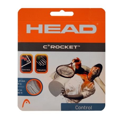 HEAD Tennis Saite C3 Rocket 16 Set (white)-281018