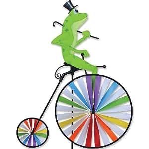High Wheel Bike FROG - Windräder: Ø42cm und Ø18cm