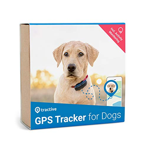 Tractive Localizador GPS para Perros con Seguimiento de Actividad, Black