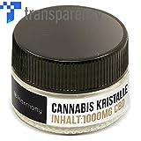 Harmony CBD Cannabidiol Cannabis Kristalle 1000mg - 99,9% pur kristallin (nikotinfrei)