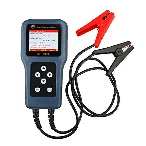 Lynn025Keats 12V 24V MST-8000 + Auto-Digital-Batterie-Analysator Batterietester mit Drucker