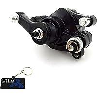 Calibrador de acero para el rotor del disco de freno trasero para minimoto Scooter, moto de cross, quad ATV y Go kart, de la marca STONEDER