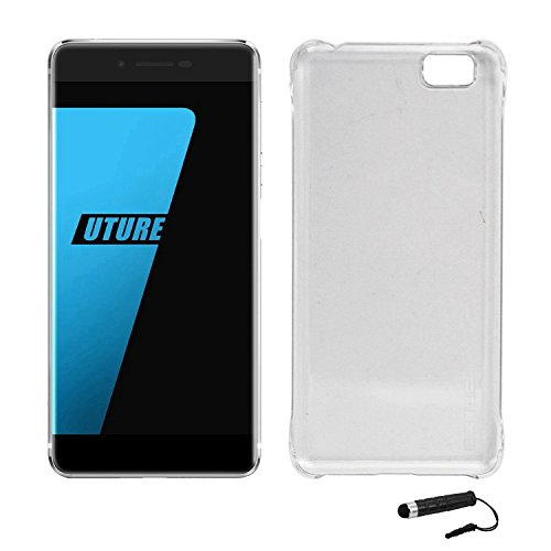 Owbb Hülle für Ulefone Future Smartphone Handyhülle Ultradünne PC Kunststoff-Hard Case mit Backcover Design Hochwertige Anti-Wrestling Function Transparent