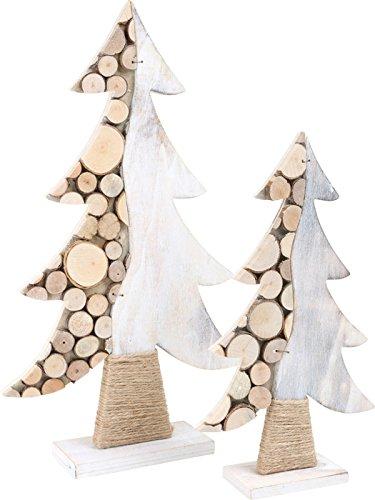 small foot Dekoartikel, Holz, weiß 23 x 6 x 39 cm