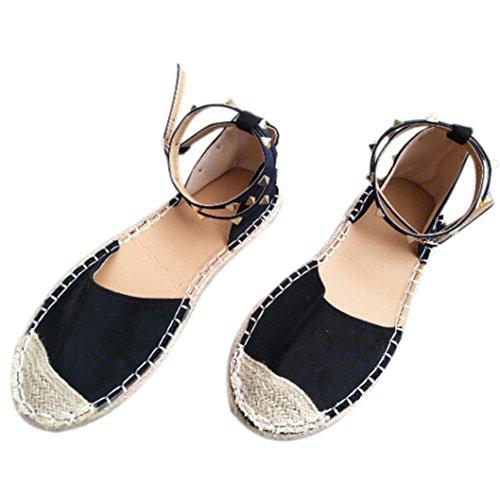 Calzado Chancletas Tacones Sandalias Vendaje Mujeres