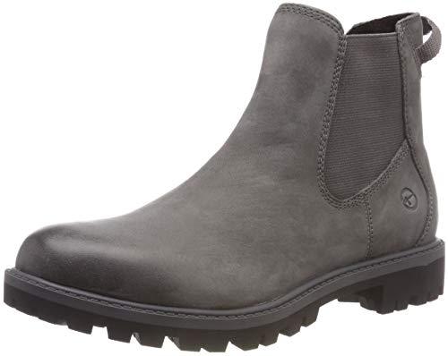 Tamaris Damen 25401-21 Chelsea Boots, Grau (Anthracite 214), 40 EU