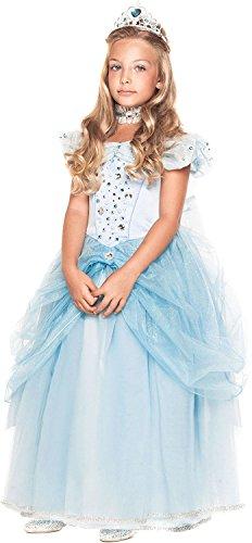 Chiber - Deluxe Prinzessin Kostüm Kinder Sofia (Größe 6)