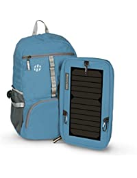 Harissons Sunsac Spectro Foldable Backpack Daypack With 6.5 Watt Solar Panel With One Year Warranty I Powers Phones...