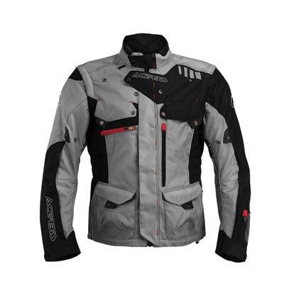 Acerbis 0017793.319.068 Adventure Jacke Adventure schwarz/grau XL