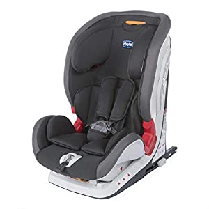 sillas de coche grupo 123: Chicco Chicco YOUniverse Fix - Silla de coche isofix grupo 123 (9-36kg) con redu...