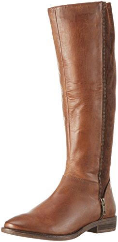 SPM 13817223-0W0-01 - Stivali alti con imbottitura leggera Donna Marrone (Dk Cuoio 008/Dk Cuoio)