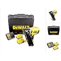 DeWalt DCN692P2-QW Clavadora de estructuras sin escobillas XR 18V 2 velocidades con 2 baterías Li-Ion 5