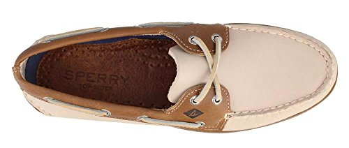 Sperry Top Sider A/O 2 EYE 195_G Herren Bootsschuhe White/Camel