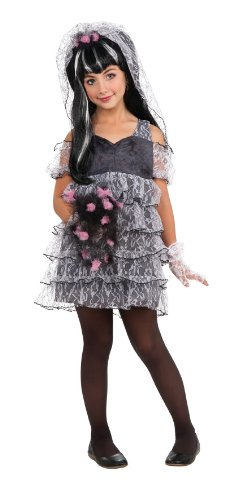 Drama Queen Monster Bride Costume Child Medium 8-10