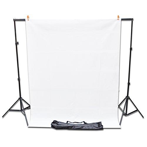 Professionelles Fotostudio Kit mit kostenlosem ungewebtem weißen Hintergrund (Pro Photo Studio)