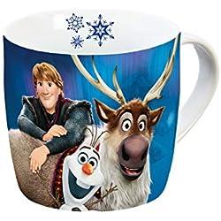 Disney Frozen 12754Olaf & Sven Taza, Taza de porcelana, taza de café, taza, porcelana, multicolor