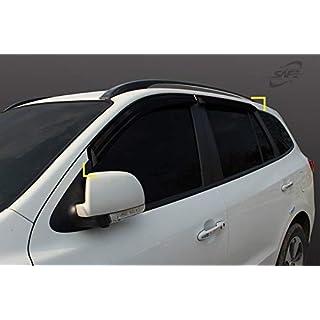 Autoclover Windabweiser-Set für Hyundai Santa Fe 2007-2012, 4-teilig