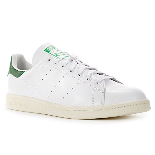 cheap for discount afb51 cdee4 Adidas Men Stan Smith White White Green 10 5 D M Us
