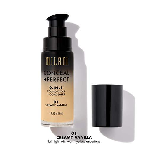 MILANI Conceal + Perfect 2-In-1 Foundation + Concealer - Creamy Vanilla